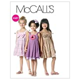 McCall's Patterns M6311 Children's/Girls' Lined