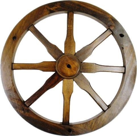 "18"" Western Solid Wood Decorative Wagon Wheel for sale  Delivered anywhere in USA"