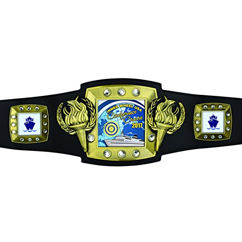 Champion Victory Custom Award Belt with your personalized artwork by TrophyPartner