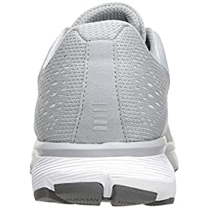 Under Armour Men's Charged Rebel, Overcast Gray (101)/Elemental, 10.5