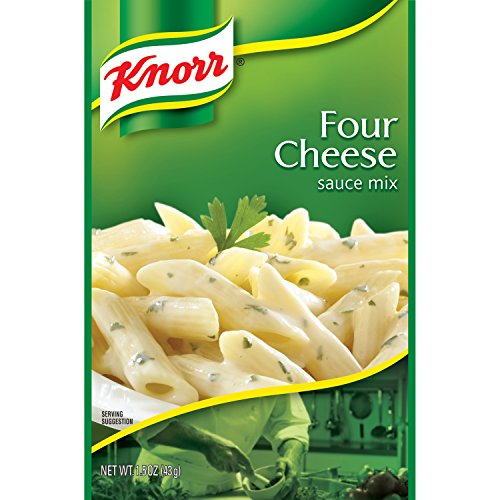 Knorr Pasta Sauce Mix Pasta Sauce Mix, Four Cheese 1.5 oz (Pack of 12) (Cheese Pasta Sauce compare prices)
