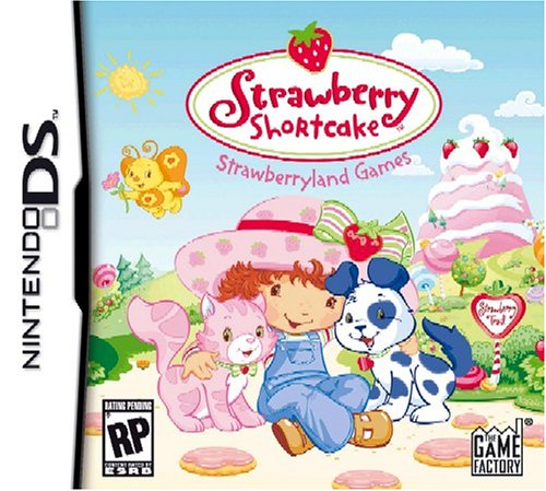 Nintendo Ds Strawberry (Strawberry Shortcake: Strawberryland Games - Nintendo DS)