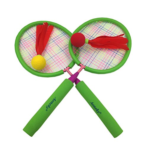 Toys Age 3 5 : Aoneky badminton set for kids toddlers children outdoor