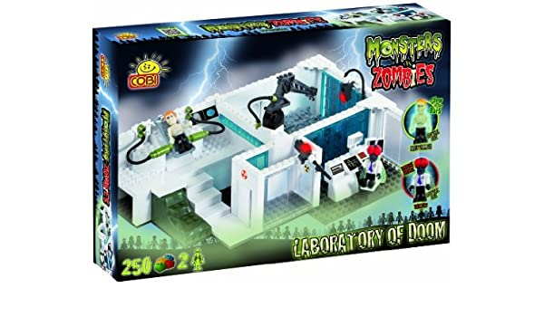 Monsters vs Zombies laboratory of doom with glow in the dark ...