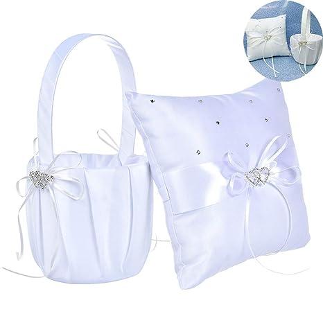 Amazon.com: Karooch - Juego de almohada con forma de corazón ...