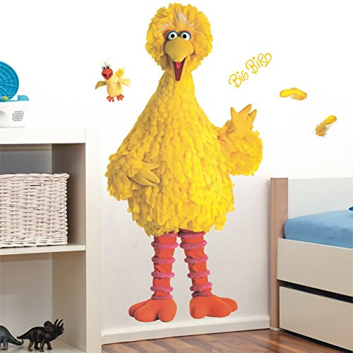Big Bird Giant Wall Decal