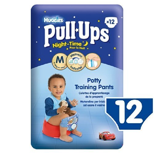 Huggies Medium Pull-Ups Night-Time for Boys 11-18kg 12 per pack