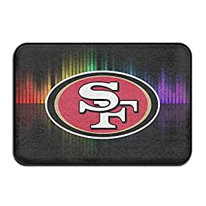 LETgogo San F 49ers Football Logo Doormats / Entrance Rug Floor Mats