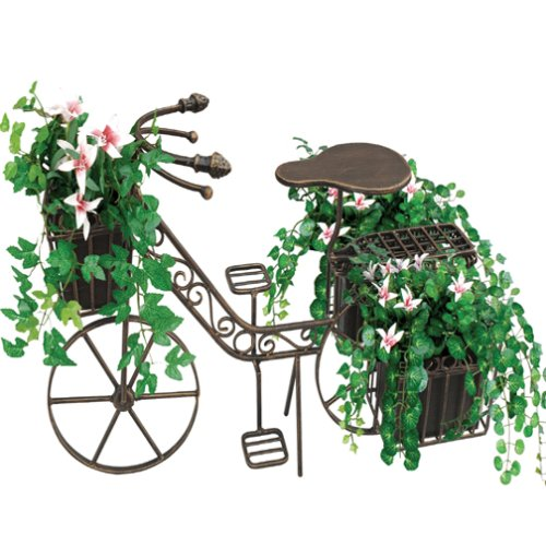 Red Carpet Studio Bronze Bicycle Planter, Small