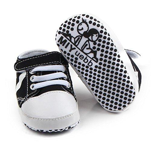 Leap Frog Huarache Sneakers - Zapatos primeros pasos de Lona para niño negro