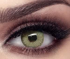 Bella Emerald Green Contact Lenses, -5 power