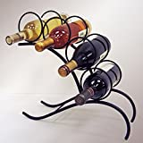 J&J Wire 4-Bottle Wine Rack For Sale