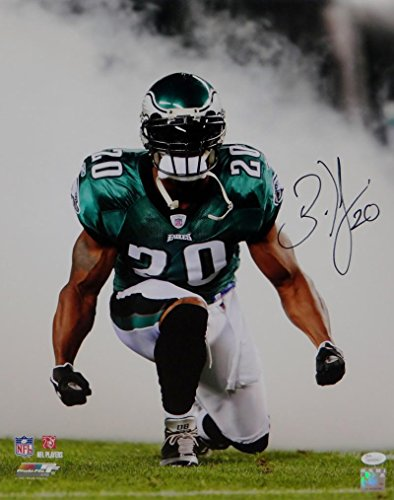 Brian Westbrook Hand Signed - 1