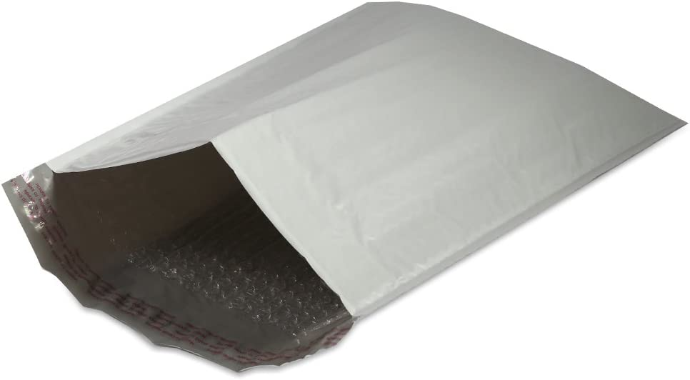 #5 Soft Shell Self-Seal Tear-Proof Poly Bubble Mailer 25 Pack 10.5 x 16 in.