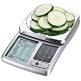 Kitrics Digital Nutrition Scale (Silver)