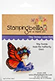 Stamping Bella EB665 Cling Stamps Bess The Butterfly, Multi