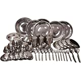 Royal Sapphire Stainless Steel Dinner Set 53 pcs