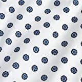 Medline MDTOG2RTSSNO Angle Back and Tieside Print Gowns, 3X-Large, Snowflake (Pack of 12)