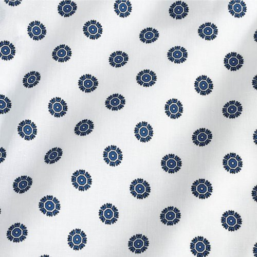 Medline MDTOG2RTSSNO Angle Back and Tieside Print Gowns, 3X-Large, Snowflake (Pack of 12) by Medline