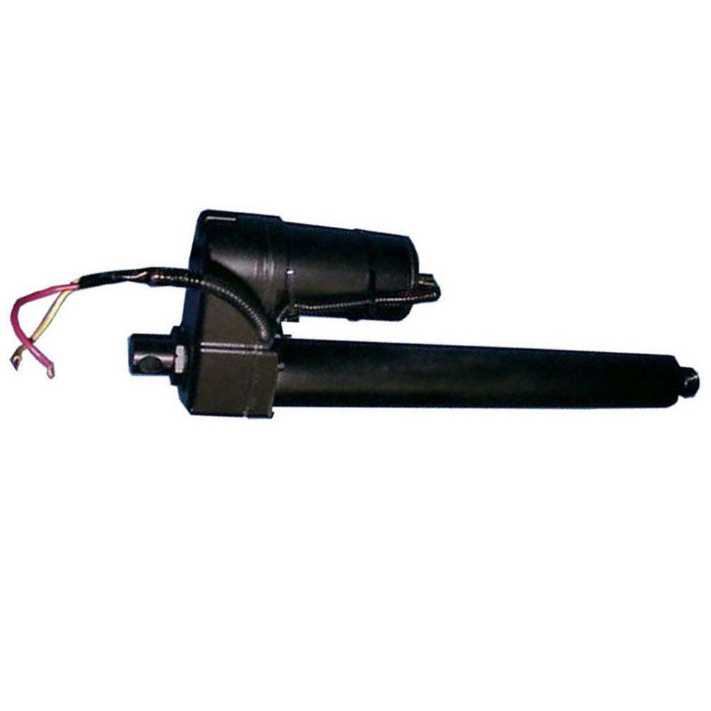 Linear Actuator 10 Inch Stroke 225lb Max Lift Output 12-Volt DC Black Steel