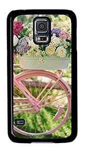 iCustomonline Bike Case for Samsung Galaxy S5 I9600 PC Material Black