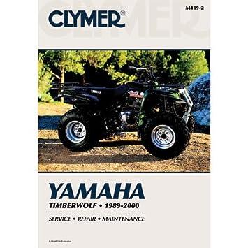 amazon com clymer repair manuals for yamaha timberwolf 250 4x4 1994 rh amazon com yamaha timberwolf 250 service manual yamaha timberwolf 250 service manual