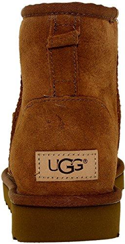 Ugg Womens Classic Mini Ii Inverno Boot Castagna