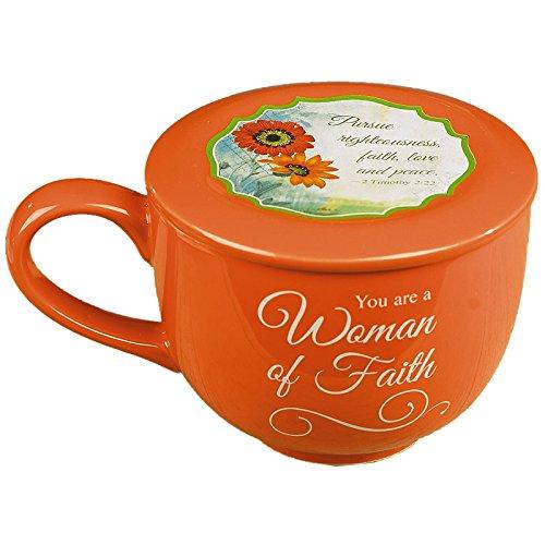 Woman of Faith Soup Mug by Abbey Gift