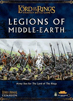 Games Workshop Legions of Middle-Earth Lord of the Rings Expansion Book