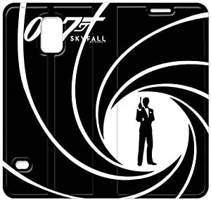 samsung galaxy S5 Flip Leather Phone Case 007 James Bond TY1OR3224577
