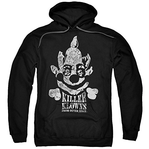 Hoodie: Killer Klowns From Outer Space- Kreepy Pullover Hoodie Size L]()