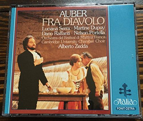 Price comparison product image Auber: Fra Diavolo / Zedda,  Orchestra del Festival di Martina Franca