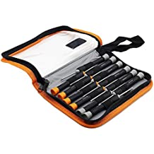 Finder 12 in 1 Precision Torx Screwdriver Set with T6 T7 T8 T9 T10 Star Philip Slotted Magnetic Screwdrivers for Phone/Mac/Computer/Watch Repairing Industrial Level Chrome Vanadium Steel