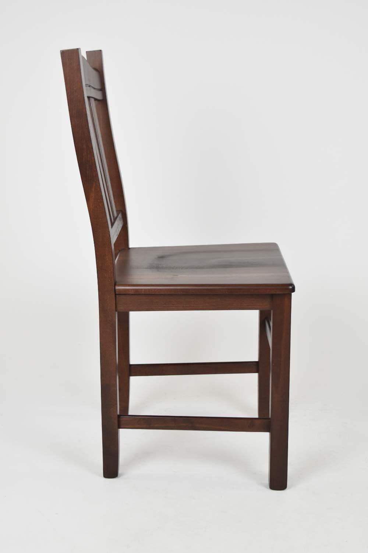 Tommychairs robusta struttura in legno di faggio color ciliegio e seduta in legno Sedia modello Silvana per cucina bar e sala da pranzo
