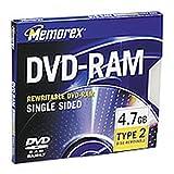 Memorex 4.7GB DVD-RAM (3-Pack)
