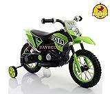 Baybee Kawasaki Super Racing Battery Operated Bike (Green)