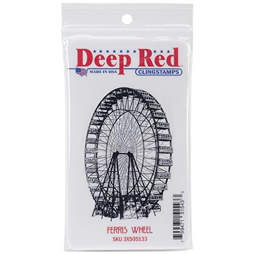 Deep ROT Stamps Ferris Wheel Rubber Stamp by Deep ROT Stamps