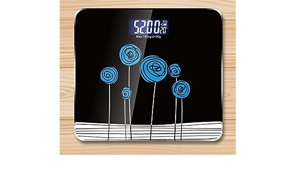 Dijo escalas de máxima precisión electrónica balanzas electrónicas de los hogares con un peso pérdida de peso peso adulto Keiki (Color : 1#) : Amazon.es: ...