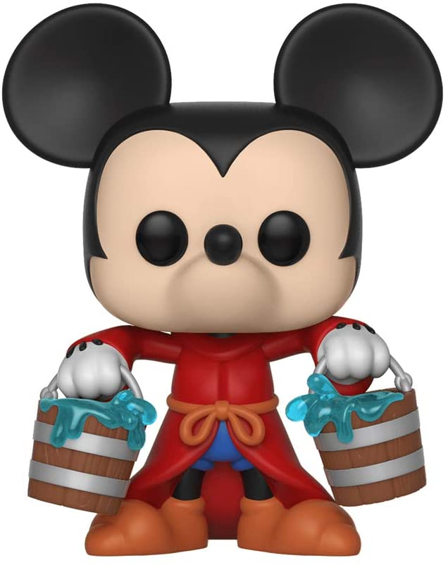 Pop! Disney Mickey 90 Years - Figura de Vinilo Aprentice Mickey