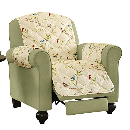Colorful Songbird Furniture Protector Recliner