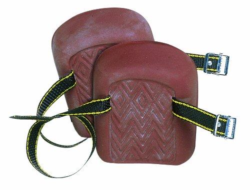 CLC Custom Leathercraft 317 Molded Natural Rubber Kneepads Single Strap