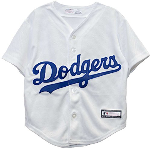 OuterStuff Los Angeles Dodgers Home Cool Base Infant, Toddle