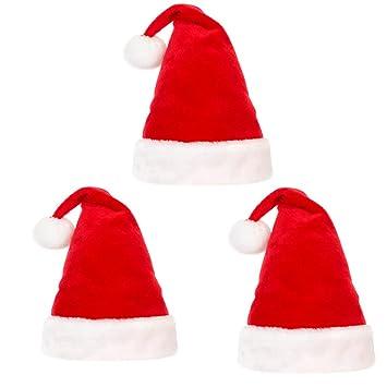 851cdddf5ac12 Santa Hat for Adult or Children Winter Plush New Years Xmas Christmas Party Santa  Hats Cap