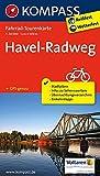Havel-Radweg: Fahrrad-Tourenkarte. GPS-genau. 1:50000.: Fietsroutekaart 1:50 000 (KOMPASS-Fahrrad-Tourenkarten, Band 7030)