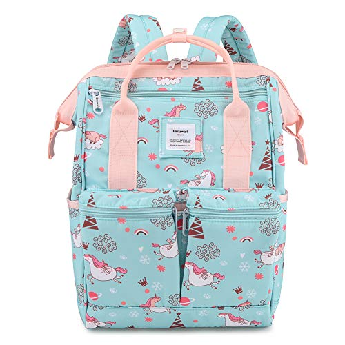 Himawari Backpack/Waterproof School Backpack 17.7
