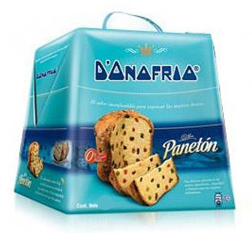 Paneton D'nofrio Cake with Raisins and Candied Fruits 900g by D'nofrio (Image #2)