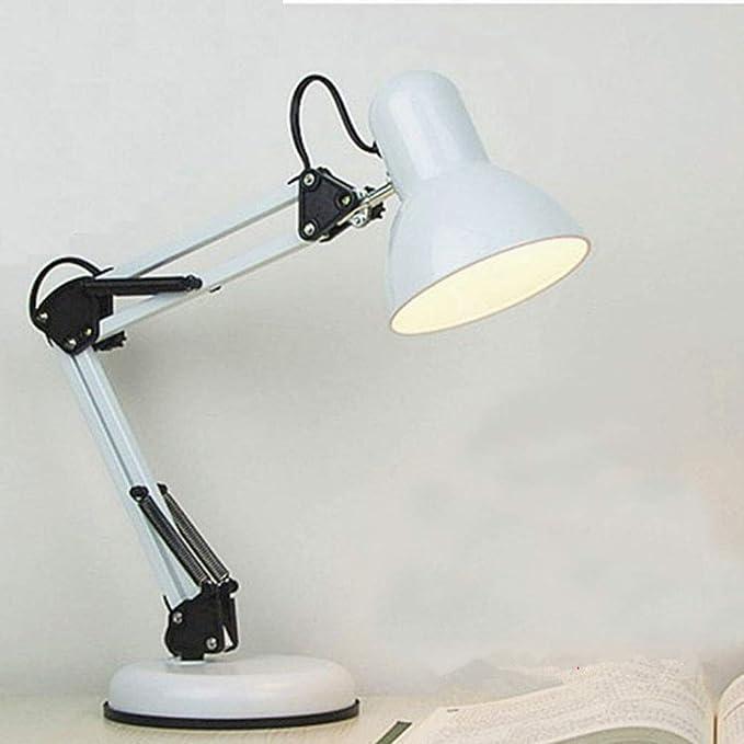 LRXHGOD Lámpara de Mesa Plegable Metal Protección para los Ojos ...