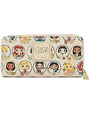 Loungefly Disney Princess Circles Zip Around Wallet WDWA1726