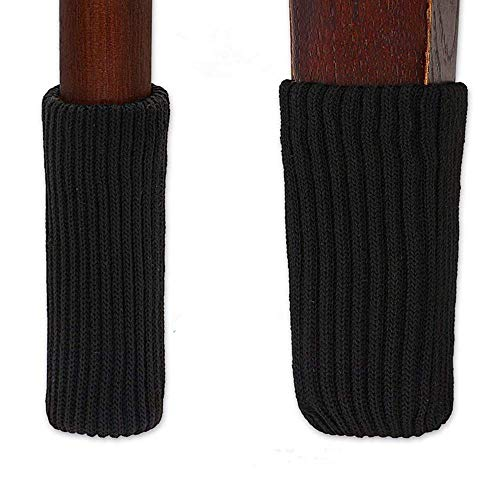 r Socks, Elastic Wood Floor Furniture Chair Leg Feet Protectors Covers Caps Set, Fit Girth From 4