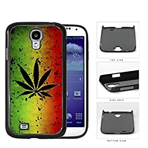 Rastafarian Weed Flag Ruined Hard Plastic Snap On Cell Phone Case Samsung Galaxy S4 SIV I9500